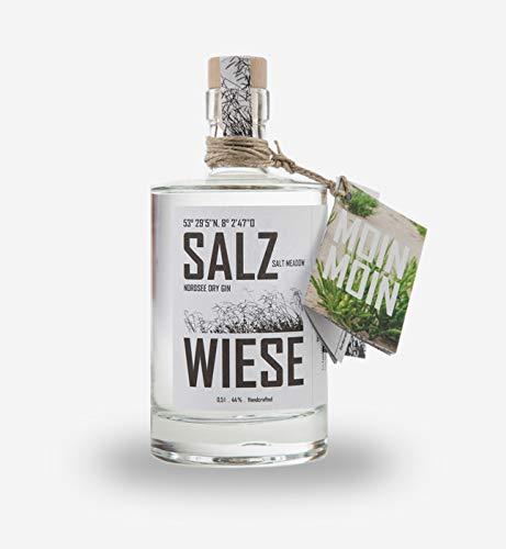 Edition Wattenmeer, Salzwiesen Gin, Dry Gin in Schmuckflasche,