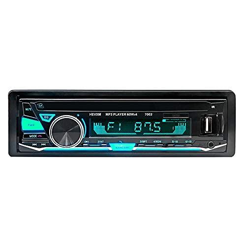 HYCy Car Stereo Radio, 7003 12V USB Input Receiver, Car MP3 Multimedia Player