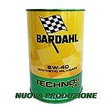 Olio motore auto Bardahl Technos C60 5W40 ACEA C3 / API SN-CF - 4 Litri