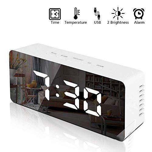 Atralife Reloj Despertador Digital, Despertadores Electrónicos Multifunción con Función Snooze, Luz de…
