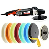 Best Polisher Kits - HI-BUFF The Wheel Rotary Variable Speed Buffer Polisher Review