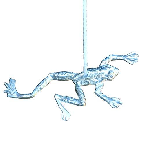 Froschgriff, Für Licht Zug Schnur, Jalousien, Vorhänge Oder Ventilator, Handgegossen, von William Sturt, aus Deutsche Zinn (Pewter)