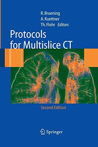 Protocols for Multislice CT