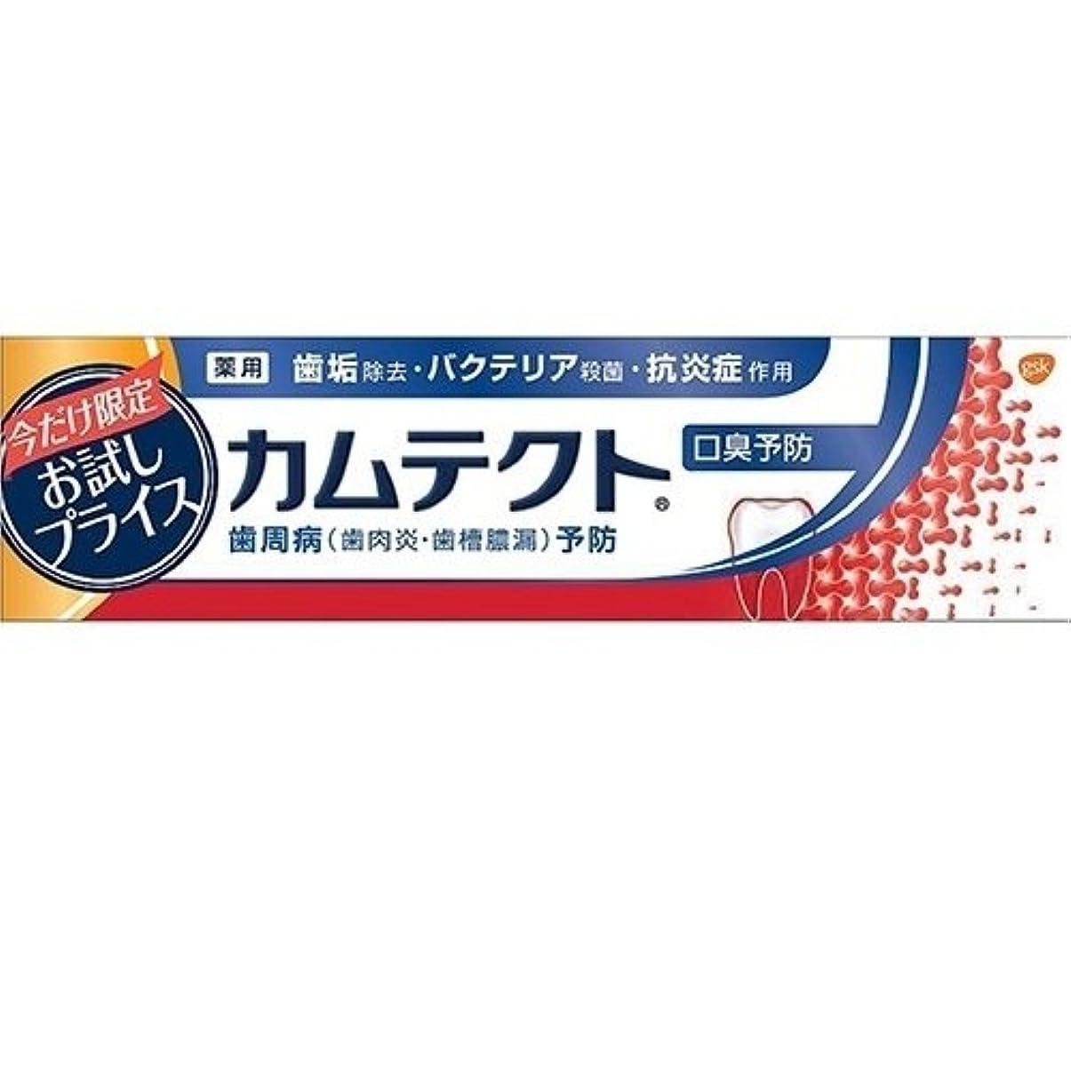 肺炎ゴールデン気怠いカムテクト 口臭予防 お試し品 95g
