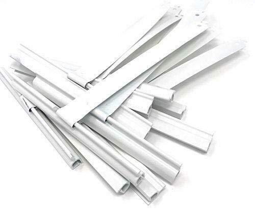 2 Stück Maxi/Mini Rolladen Aufhängefeder Rolladenwellen Stahlfeder Abdruckdämmfeder Aufhängung Rollladen Stahlbänder Rolladen-Federn fenste (mini 8 mm)