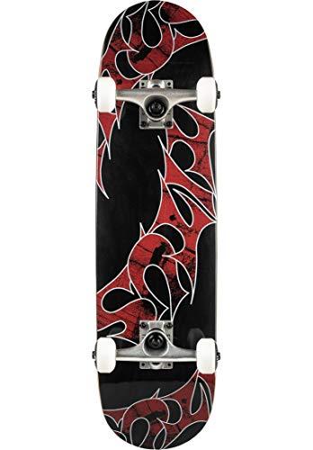 TITUS Skateboards-Complete Triple-Schranz-Mini Komplett Board, Black-Stained, 7.5, bereits fertig montiert, Skateboard für Kinder, Mädchen und Junge