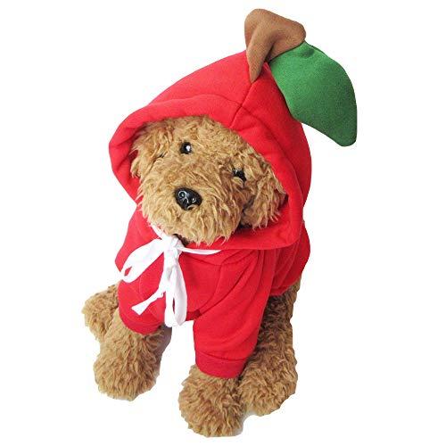 k-city(ケーシティ) 犬 服 犬服 犬の服 パーカー トレーナー フルーツ コスプレ ドッグウェア XL にんじん