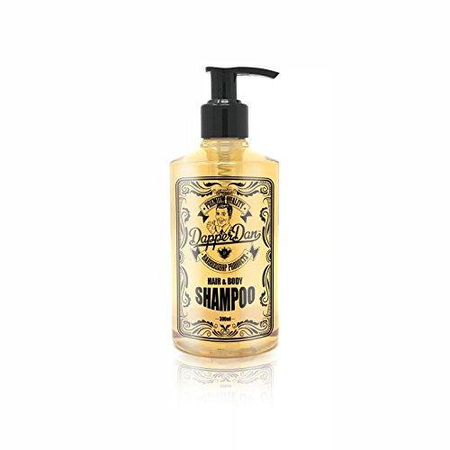 Dapper Dan Moisturising Hair & Body Shampoo | The Ideal Hair Shampoo for Men's Hair and Beard | Use Before Applying Dapper Dan Matt Paste or Dapper Dan Pomade For Best Results | 300ml