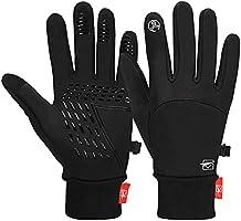 Cevapro Fahrradhandschuhe Warme Winterhandschuhe Wasserabweisende Touchscreenhandschuhe Winddichte Laufhandschuhe...