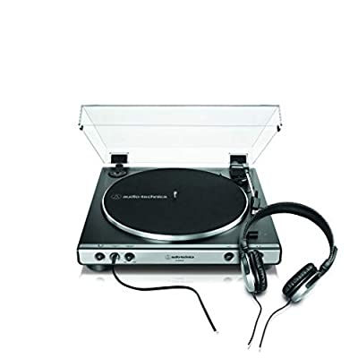 Audio-Technica AT-LP60XHP Fully Automatic Belt-Drive Turntable with Headphone