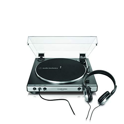 Audio-técnica lp60xhp giradiscos automático estéreo de tracción por correa con auriculares.