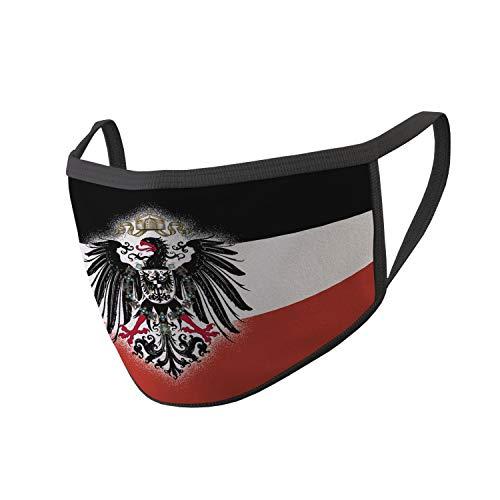 Copytec Mundmaske Deutsches-Kaiser-Reich WW1 Preußen Adler Deutschland Heimat Deutscher #34645