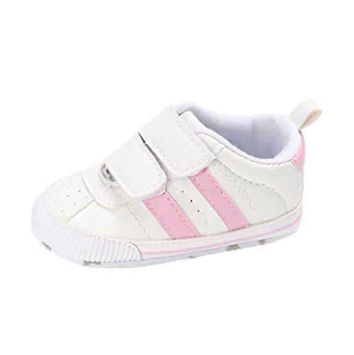 Zapatos de bebé Auxma Zapatillas de Deporte Infantiles Suaves del niño de Prewalker de Las Muchachas de los Muchachos de los bebés para 6-12 12-18 Mes