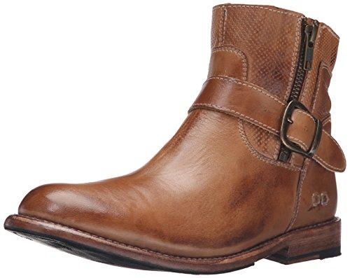 BED STU Women's Becca Leather Dress Boot (8, Tan Rustic)