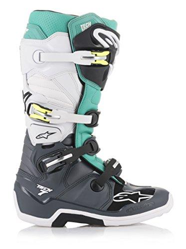 Alpinestars Motocross-Stiefel Tech 7 Grau Gr. 44.5