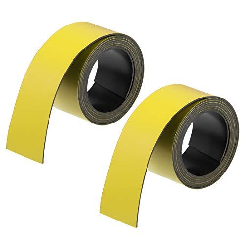 beschreibbar 60 x 34 x 0,5mm 25 x Magnetplättchen Etiketten Magnetfolie