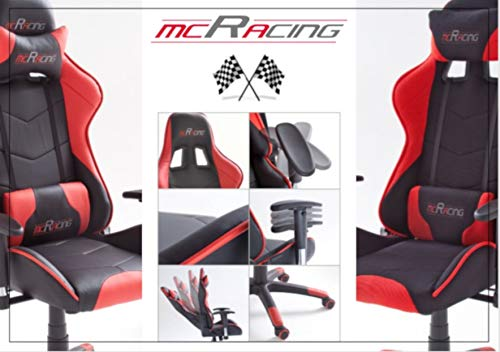 MC Racing 5 Gamingstuhl Bild 6*