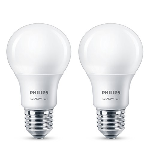 Philips 3-in-1 LED Lampe SceneSwitch ersetzt 60W, EEK A+, E27 (Matt)