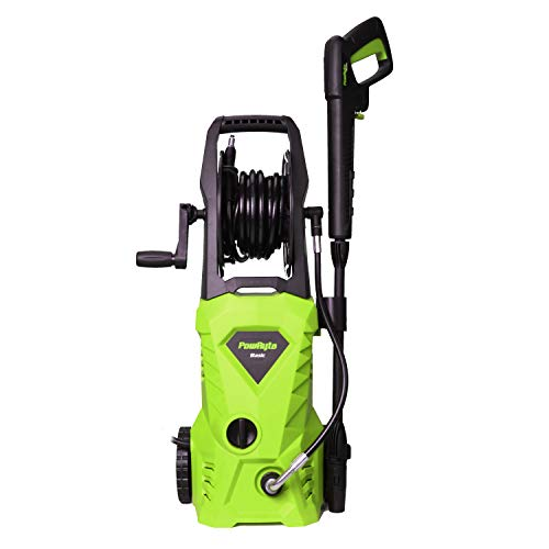 PowRyte Light Green Power Washer, Electric Pressure Washer with Tank