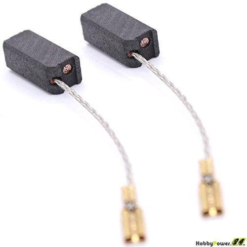 Kohlebürsten Kohlen für Flex Winkelschleifer L 1710 FR / L1710 FRA ersetzt K49 6,3x8x15mm