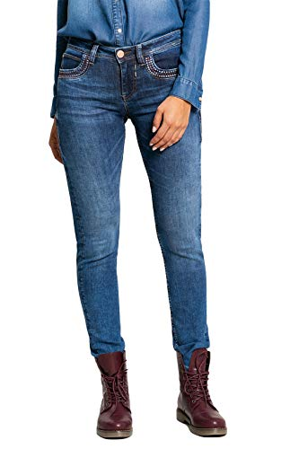 BlueFire Damen Jeans Nancy Slim Fit darkblue (83) 29/32