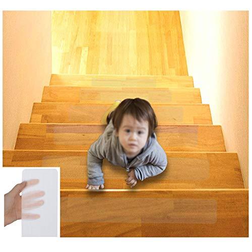 Tira Antideslizante Transparente Para Escaleras, Tapete Antideslizante, Tapete Autoadhesivo Para Piso, Adecuado Para Escalones, Cocina, Baño Protección De Seguridad Anticaídas Para Niños(Size:10x60cm)