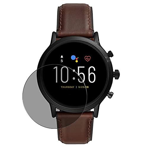 Vaxson TPU Pellicola Privacy, compatibile con FOSSIL Gen 5 Smartwatch The Carlyle HR FTW4026, Screen Protector Film Filtro Privacy [ Non Vetro Temperato ]