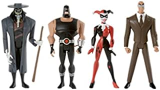 Justice League DC Universe Unlimited Exclusive Action Figure 4-Pack Gotham City Criminals (Clock King, Harley Quinn, Bane and Scarecrow)