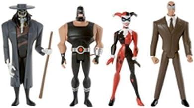 Justice League DC Universe Unlimited Exclusive Action Figure 4-Pack Gotham City Criminals (Clock King, Harley Quinn, Bane ...