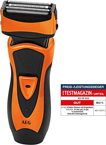 AEG HR 5626 Herrenrasierer, orange