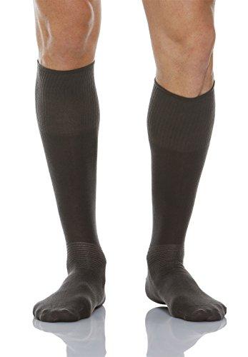 Relaxsan 550L (Anthrazit, Gr.6) Socken Diabetes mit X-Static Silberfasern