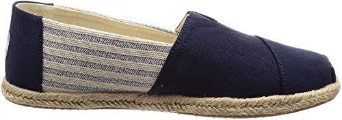 TOMS Men Alpargata Hombre, Azul (Navy 000), 46 EU