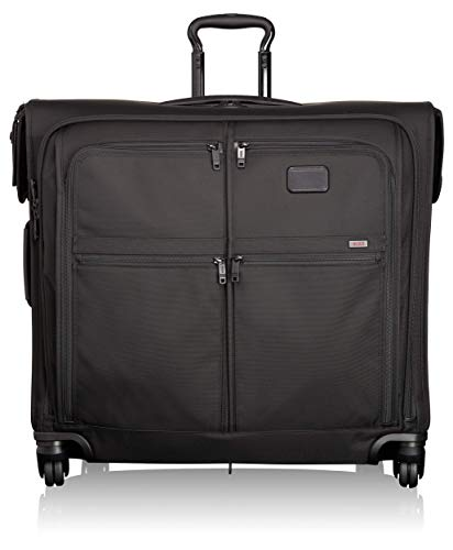 TUMI - Alpha 2 Extended Trip 4 Wheeled Medium Garment Bag - Dress or Suit Bag for Men and Women - Black