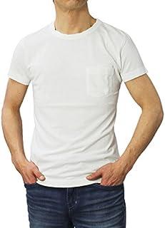YANUK コットン トライブレンド天竺 ポケット Tシャツ