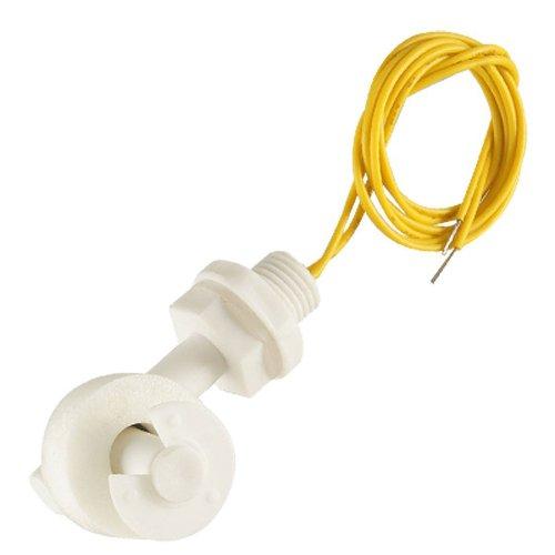 Katigan Sensor del Nivel de Agua Interruptor de Flotador Angulo Recto PP Blanco