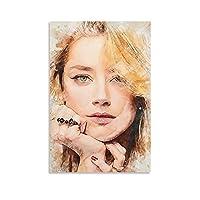 琥珀色の聞いたポスター装飾絵画ファミリールーム壁装飾絵画キャンバスプリントアート絵画20×30インチ(50×75cm)