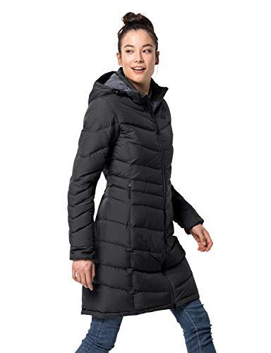 Jack Wolfskin Damen Selenium Coat Winterjacke, Black, XS