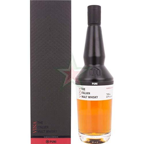 Puni VINA The Italian Malt Whisky 43,00% 0,70 Liter