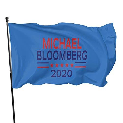 Alive Inc Michael Bloomberg Präsident 2020 Kampagne Gartenfahne Banner Flagge für innen/außen 3 X 5