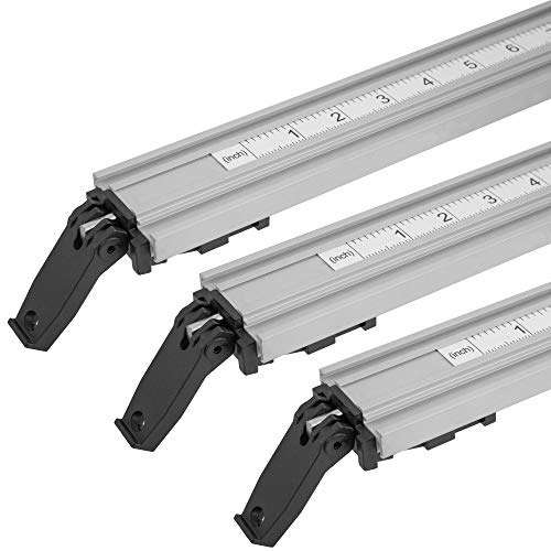 ProGrip Straight Edge Clamps Ideal for Cutting Large Sheets of Plywood and Dado Slots (All 3 Clamps 24, 36 and 50 inch)