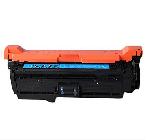 Adecuado para HPCE250A Cartucho de tóner compatible con color HPCP3525 / 3525dn / CM3530 / 3530FS / 504A / CE250A Cartucho de tóner de impresora 4 colores cyan