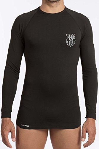 Fc Barcelone Maillot Thermique fit Barca - Collection Officielle Taille Enfant garçon 14/16 Ans