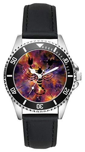 Geschenk für Skorpion Horoskop Sternzeichen Uhr L-6176