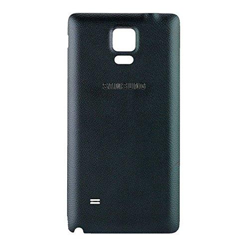 Original Samsung Akkudeckel black / schwarz für Samsung N910F Galaxy Note 4 (Akkufachdeckel, Batterieabdeckung, Rückseite, Back-Cover) - GH98-34209B