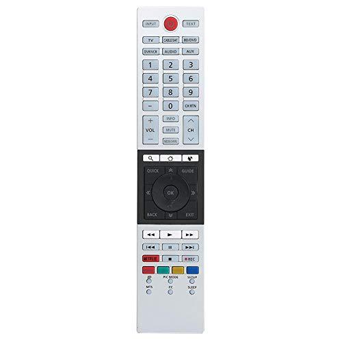 Bewinner Ersatzfernbedienung für Toshiba TV, Original TV-Fernbedienung 4K Ultra HD Smart TV-Fernbedienung für Toshiba CT-90430 CT-90429 CT-90427 CT-90428 CT-90444