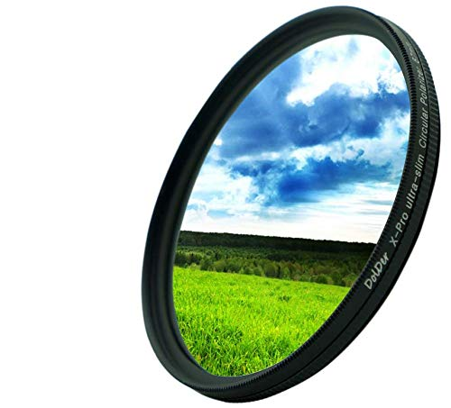DolDer Zirkularer Polarisationsfilter -67 mm Slim CPL Filter 67mm