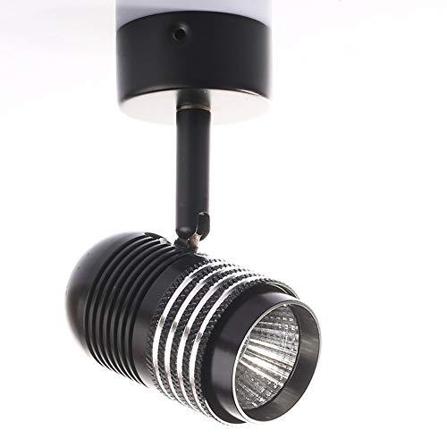 Sunny Lingt 5W LED-Strahler, Bilderleuchte for Aufputzmontage, verstellbares, drehbares Decken-Downlight, 3000K, Spot-Beleuchtung for die Innenwand im Hintergrund, Verkaufsvitrine, warmes Weiß