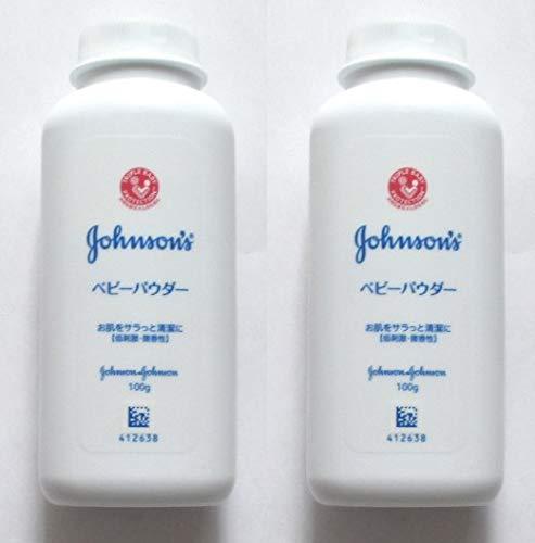 【まとめ買い】ジョンソン&ジョンソン ベビーパウダーシェーカータイプ 100g ×2セット