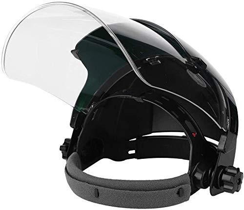 Welding Helmet, Dual Panel Welding Cap, Arc Welder Helmet, Anti Glare Splashing Protective Face Shield, for TIG MIG Arc Cut Grinding Welder