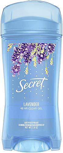 Secreto W-BB-1670 Scent Expressions Ooh-La-La Lavanda Gel transparente de cristal por Secret para la Mujer - 2,7 oz Desodorante Stick
